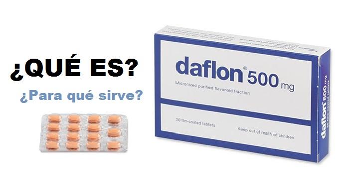 daflon 500 mg qué es y para que sirve el daflon