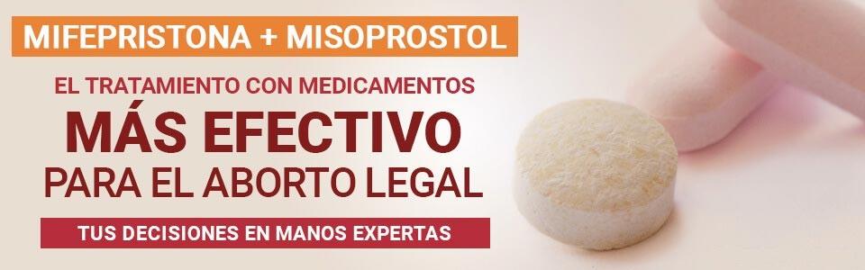 mifepristona y misoprostol Pastillas para Abortar