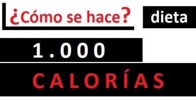 DIETA 1000 CALORÍAS