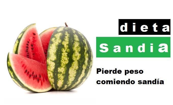 Dieta de la sandia