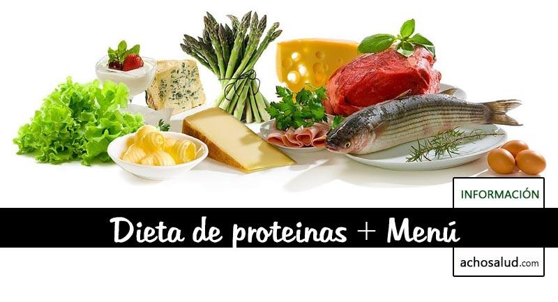 Dieta de proteinas