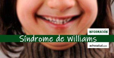 Síndrome de Williams