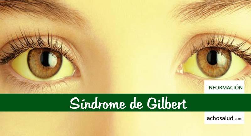 Sindrome de gilbert sintomas