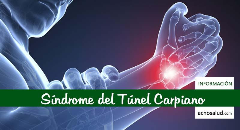 Sindrome Tunel Carpiano operacion